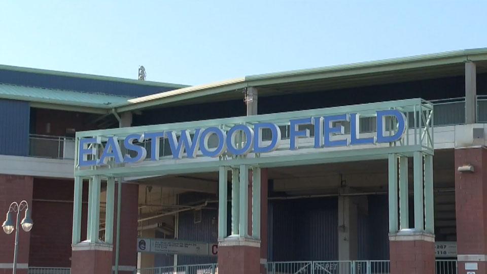 Eastwood Field entrance, generic