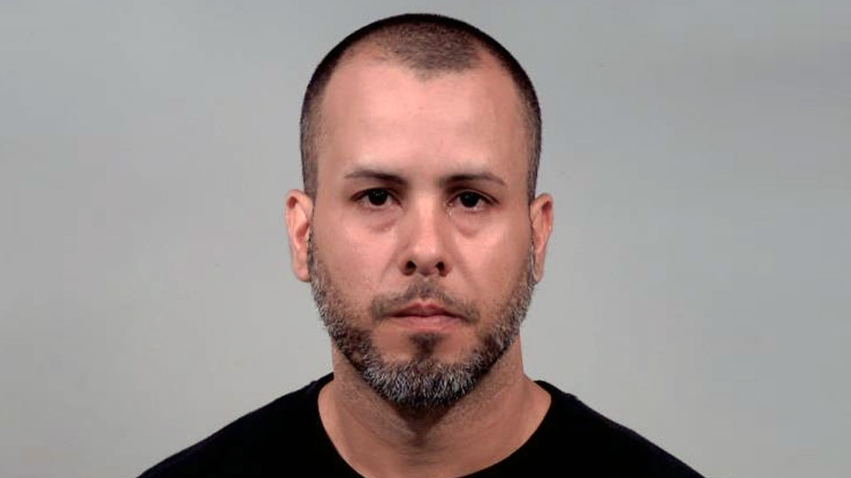 Felix Ortiz-Rivera, charged with aggravated menacing in Liberty.