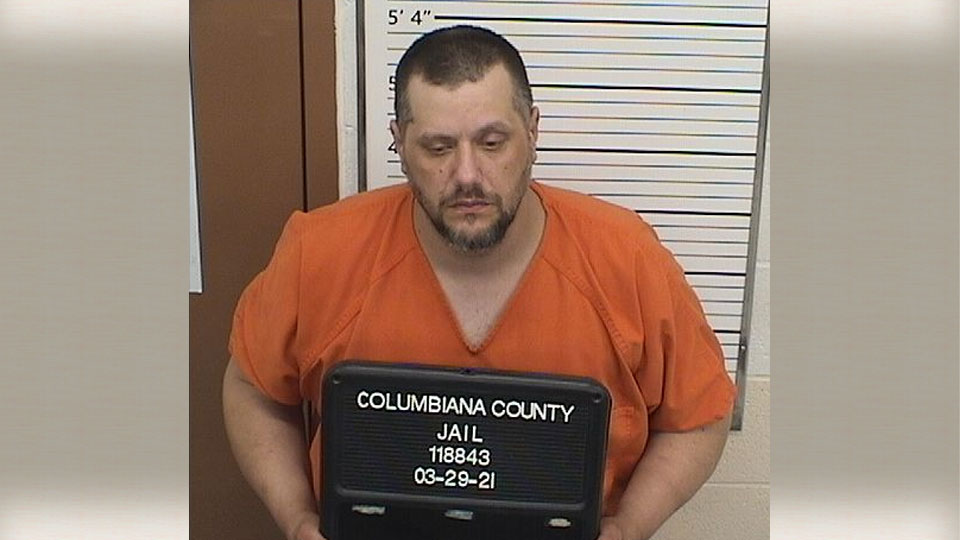 Gary Joiner, being held on a warrant while police investigate a fatal shooting in Columbiana County