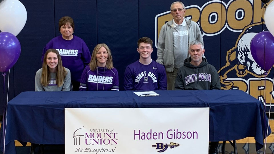 Haden Gibson, Mount Union commit