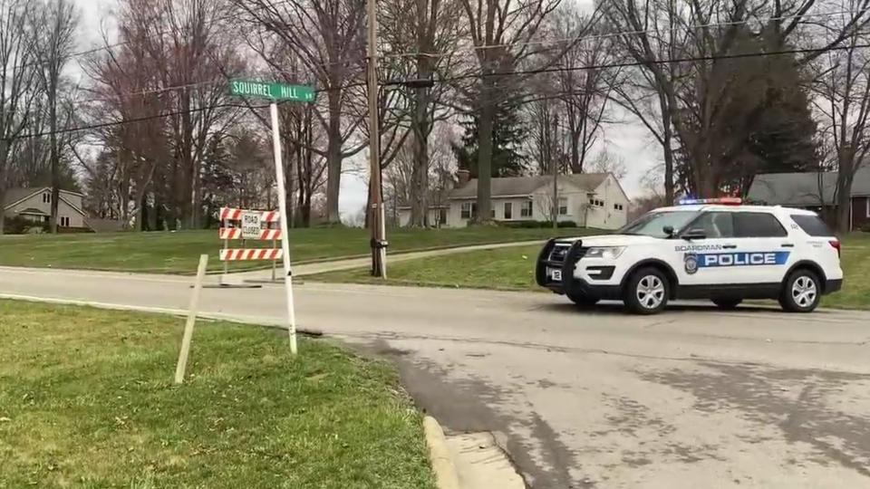 Hitchcock Road closed, Boardman