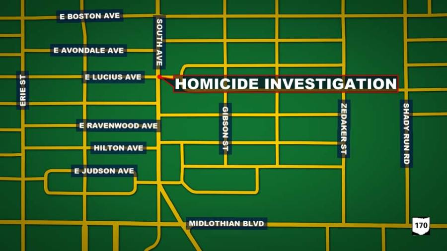 Homicide Investigation: South Ave and E Lucius Ave