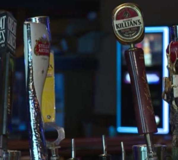 JR'z Pub in Austintown, a year after DeWine's orders to close.