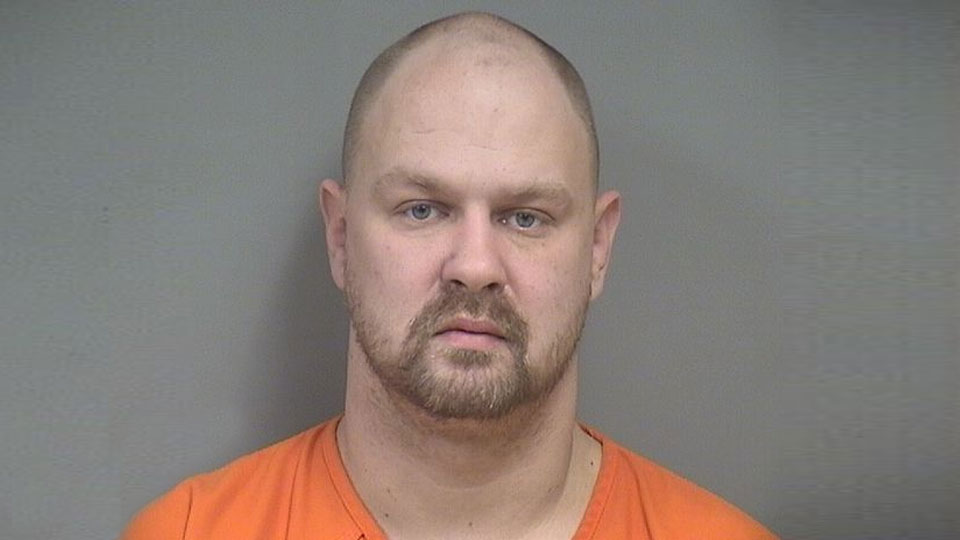 Justin Bennett, charged with felony domestic violence in Boardman