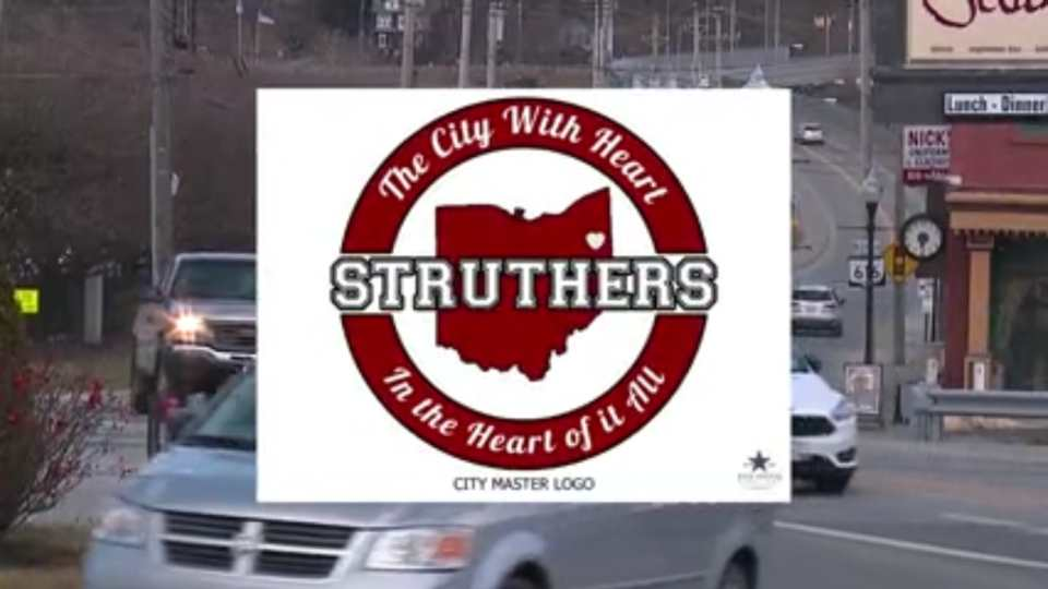 For the first time, Struthers has a city logo.