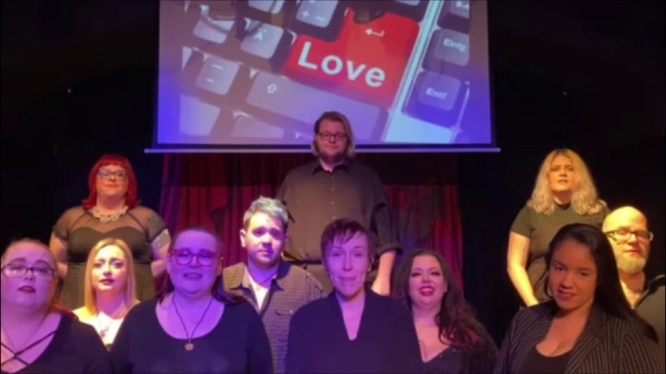 Rust Belt Theater streaming popular show for free, asking for small donation