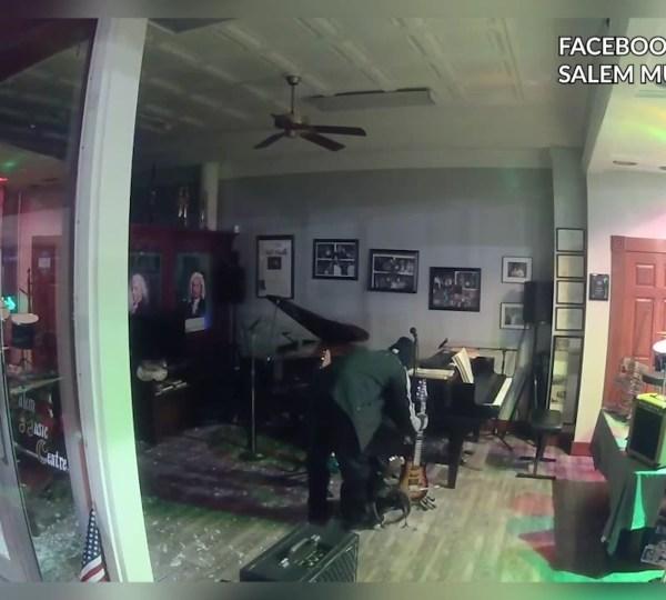 Salem Music Centre break-in