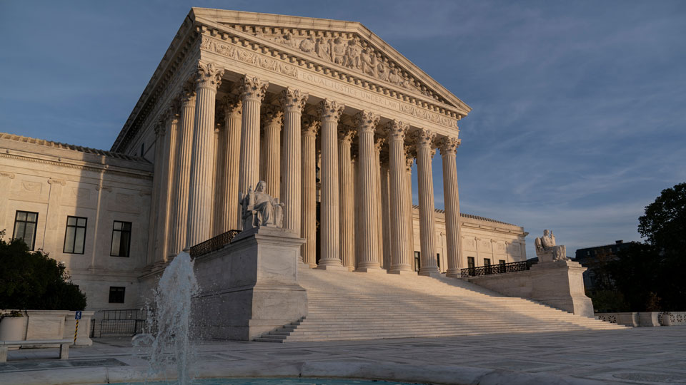 Supreme Court is seen in Washington