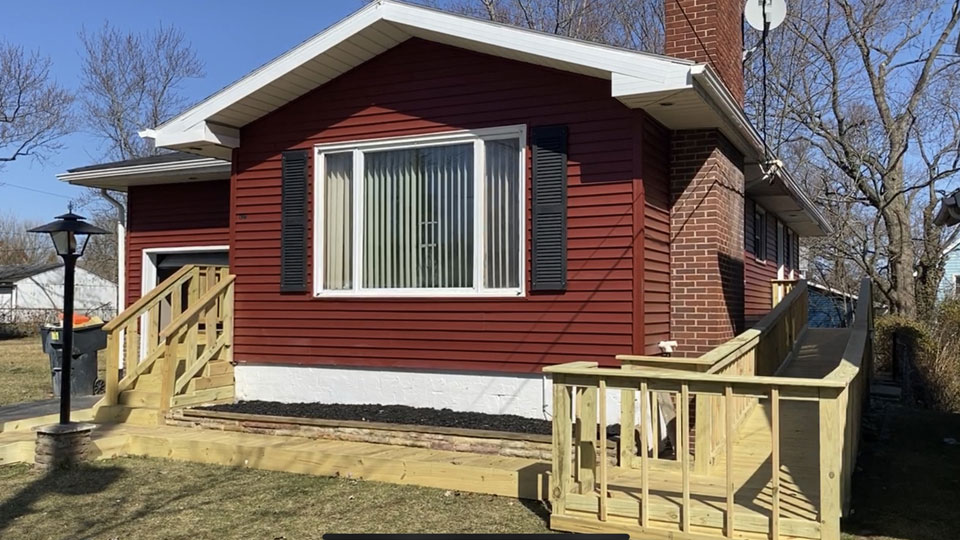 the Trumbull Neighborhood Partnership is helping renovated older homes in Trumbull County into affordable housing for those in need.