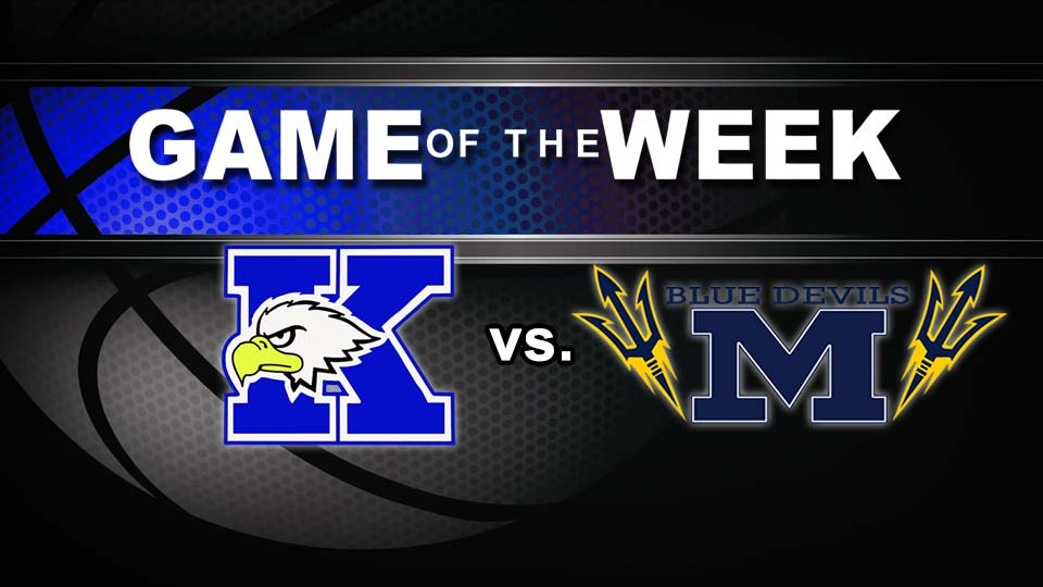 Warren JFK Eagles vs. McDonald Blue Devils High School Basketball Game of the Week graphic