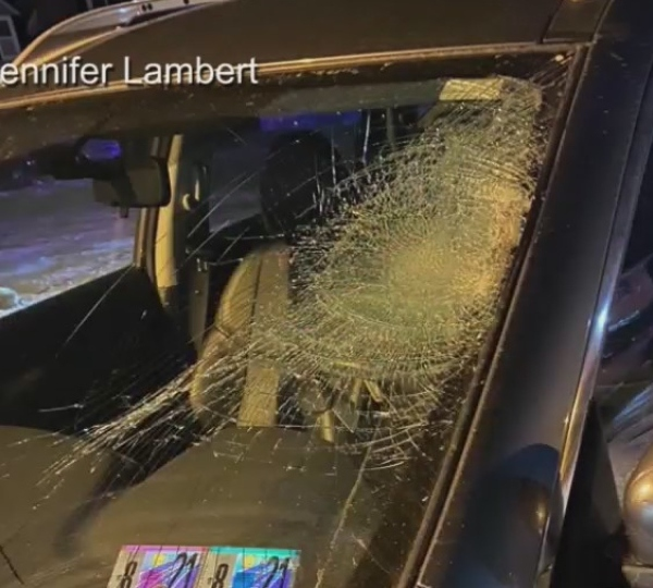 Weathersfield pedestrian crash