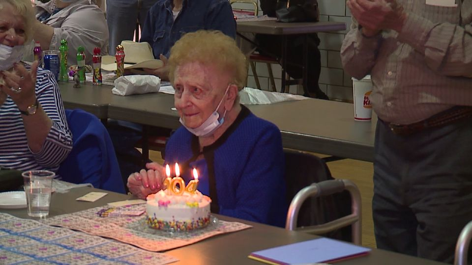 There was a special celebration Monday at a bingo game in Youngstown.
