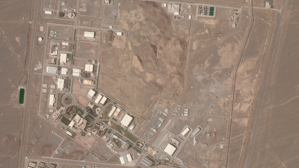 Iran atomic site blackout