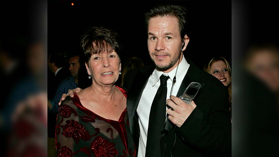 "In this Sunday, Jan. 16, 2005, file photo, Mark Wahlberg, executive producer of the HBO series ""Entourage,"" and his mother Alma pose at the HBO party after the 62nd Annual Golden Globe Awards, in Beverly Hills, Calif. Alma Wahlberg, the mother of entertainers Mark and Donnie Wahlberg and a regular on their reality series ""Wahlburgers"", has died, her sons said on social media Sunday, April 18, 2021. She was 78. ""My angel. Rest in peace,"" Mark Wahlberg tweeted."