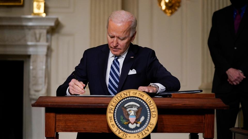 Biden ambitious climate goal