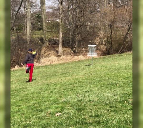 Boardman disc golf course near junior high