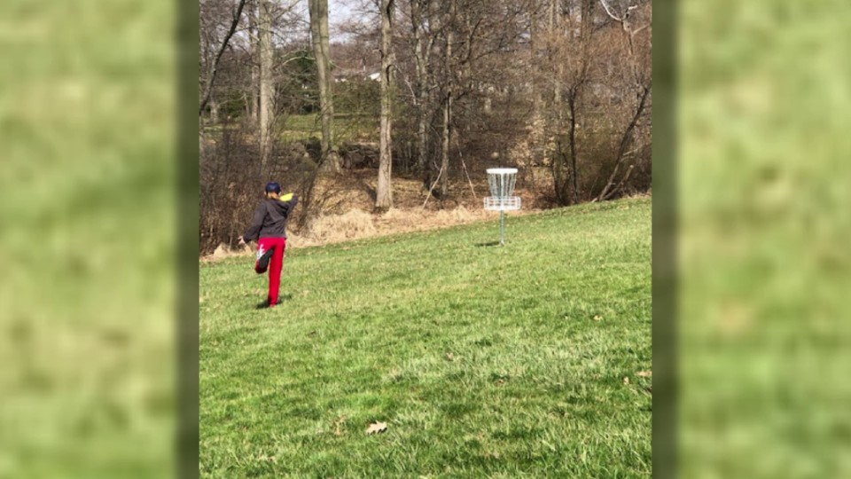 Boardman disc golf course near junior high