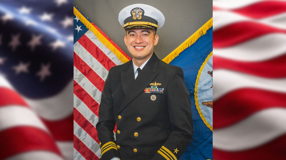 Lieutenant Commander Solomon Lu, Boardman Native serves aboard future U.S. Navy warship