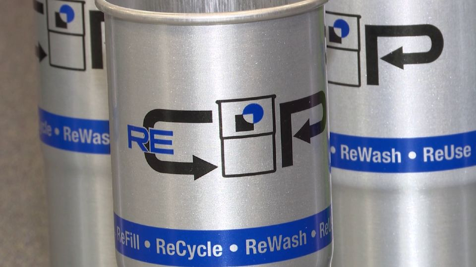 CCL Container in Hermitage is Introducing an eco-friendly reusable aluminum beverage cup.