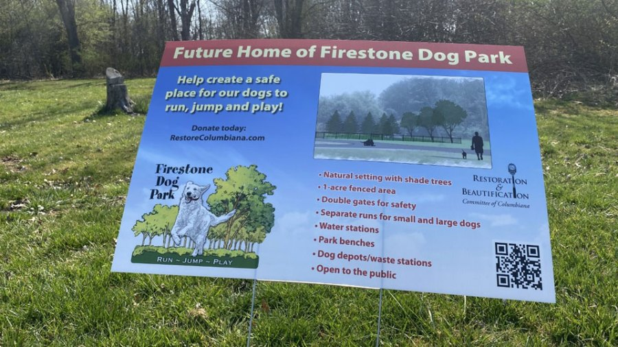 Local community members in Columbiana are doing their part to raise money for a dog park.