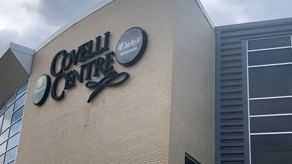 Covelli Centre in Downtown Youngstown