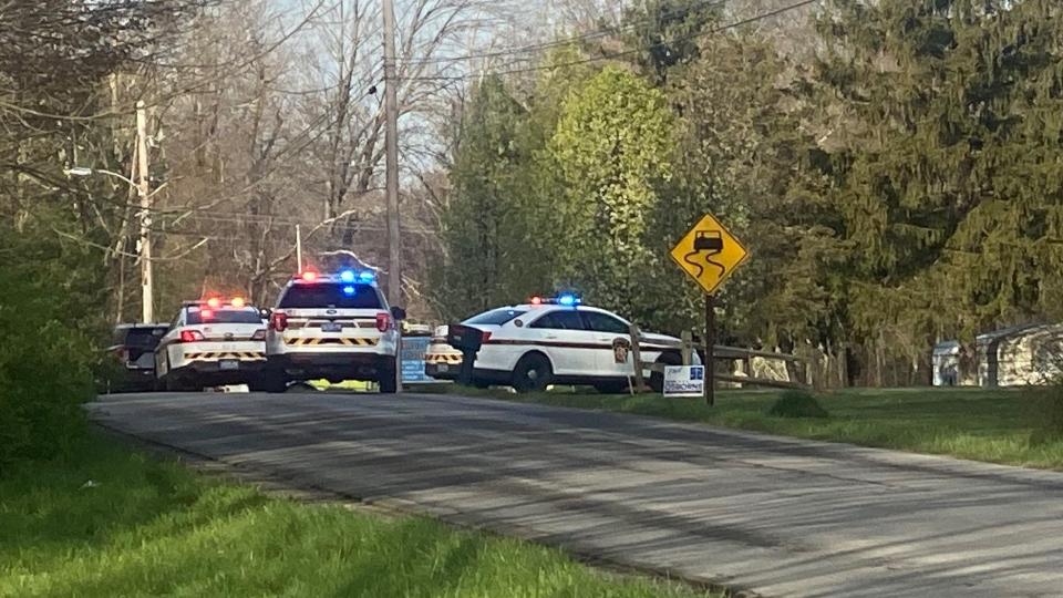 Crash on Ball Park Road in Mercer County