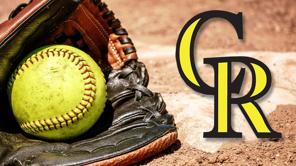 Crestview logo softball
