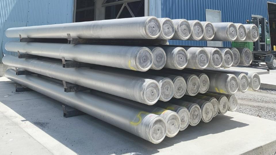 Ellwood Aluminum ingots and billets in Hubbard