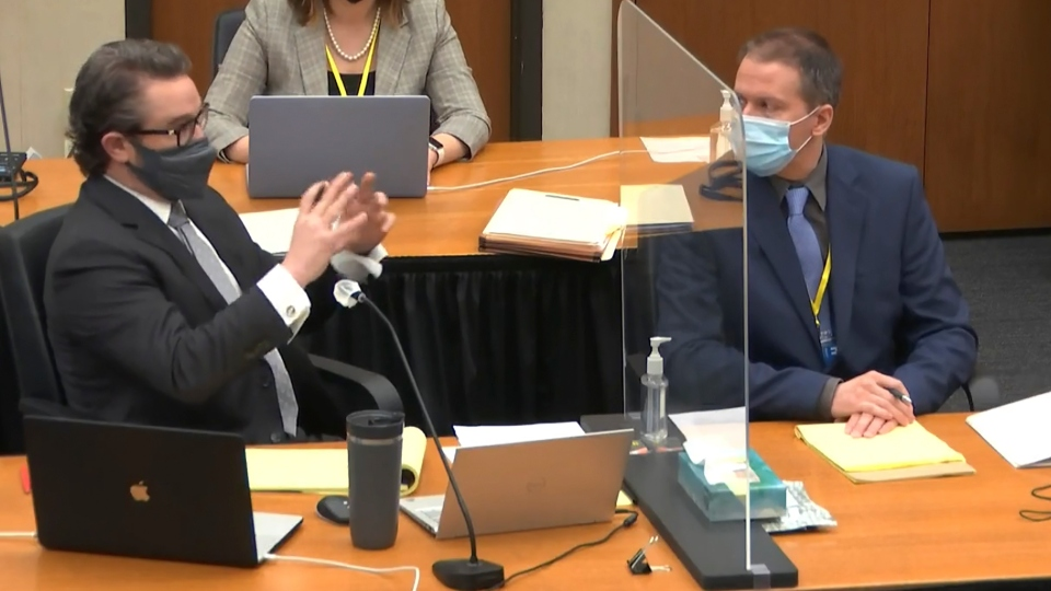 Eric Nelson, Derek Chauvin, George Floyd trial