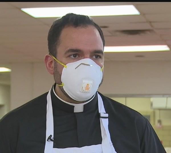 Father Christopher Cicero in Warren