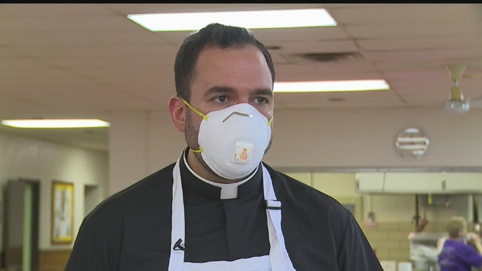 Father Christopher Cicero in Warren