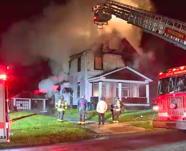 Fire causes structural damage