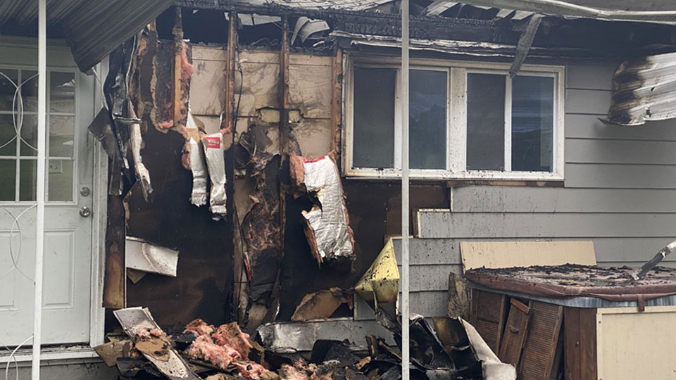 Many departments responded to a call for a house fire in Glenmoor around 1:30 this morning.