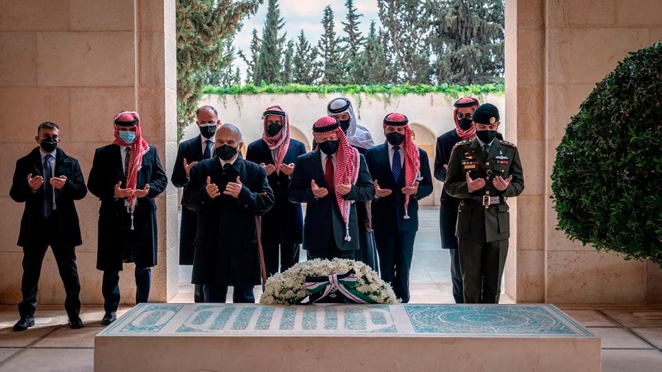 Jordanian Prince public appearance