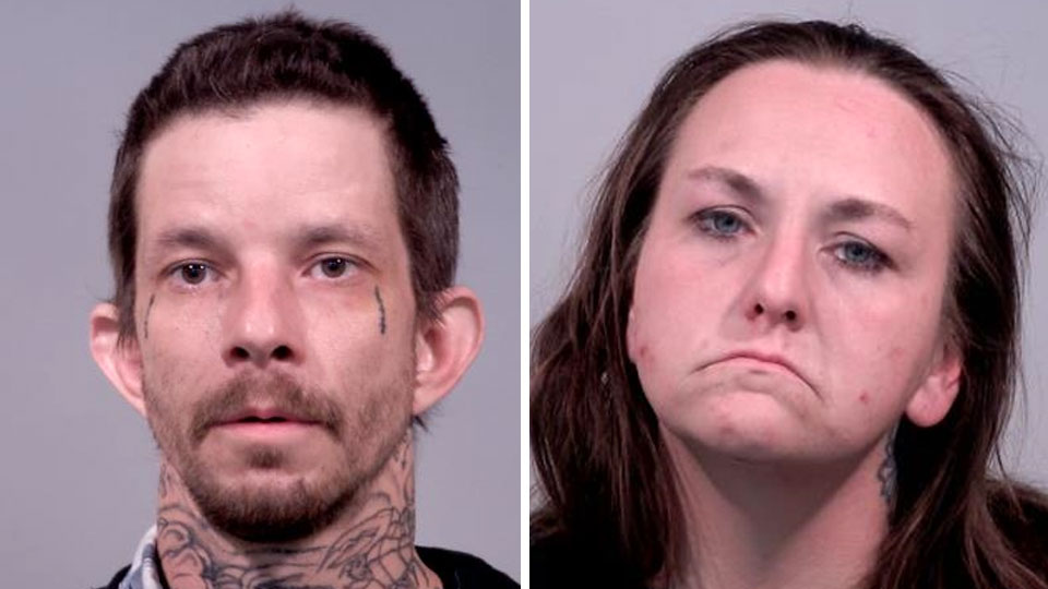 Joseph Lewis and Jessica Davis, charged with breaking and entering and tampering with coin machines in Howland