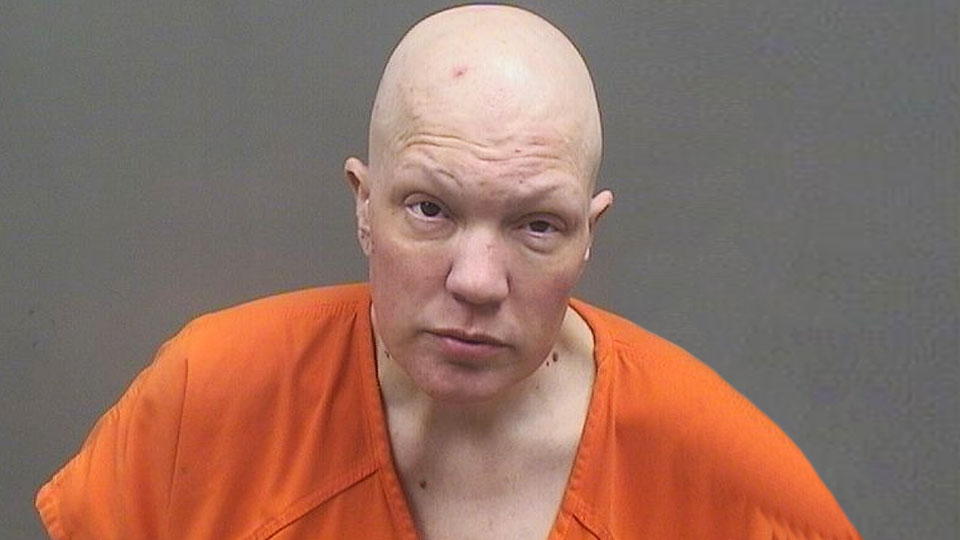 Laura Buckley, charged with menacing by stalking in Struthers.