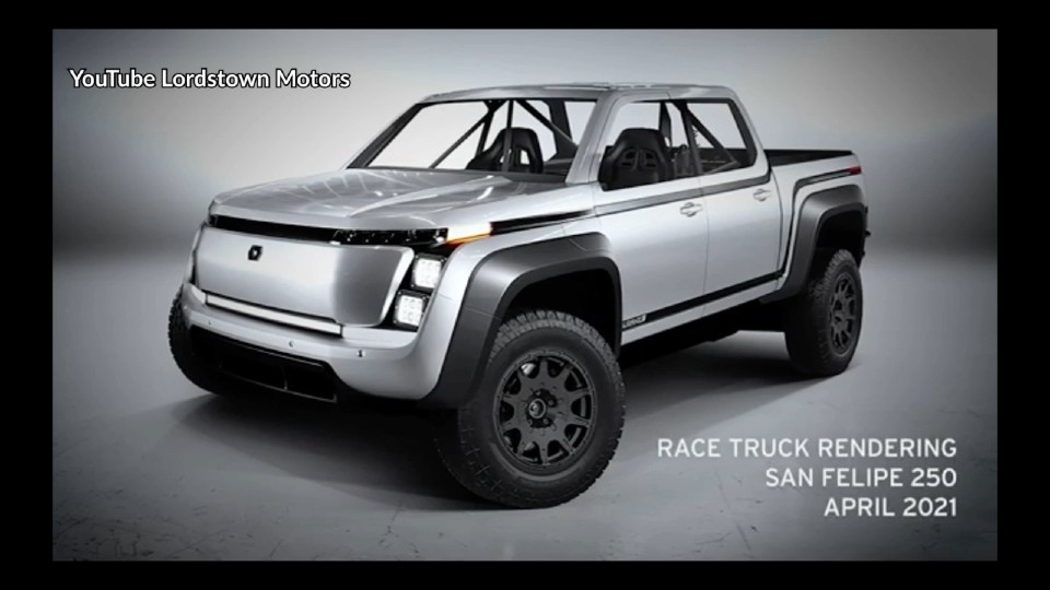 Lordstown Motors' San Felipe race entry