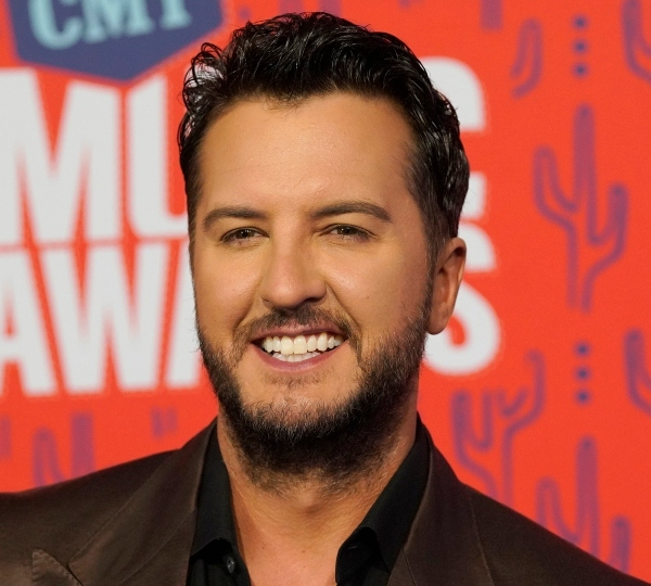 In this June 5, 2019 file photo, Luke Bryan arrives at the CMT Music Awards at the Bridgestone Arena in Nashville, Tenn.
