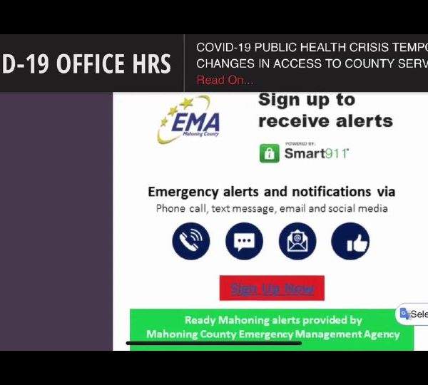 Mahoning County launched its new emergency alert system. It's called 'Ready Mahoning.'