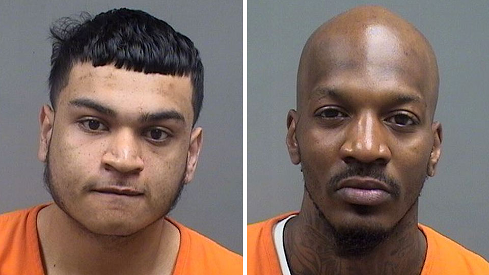 Mikklo Delgado, youngstown parole violation and Thomas Nickerson, Youngstown felon in possession of a firearm