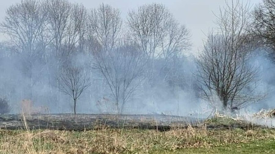 Oak Tree Country Club brush fire2