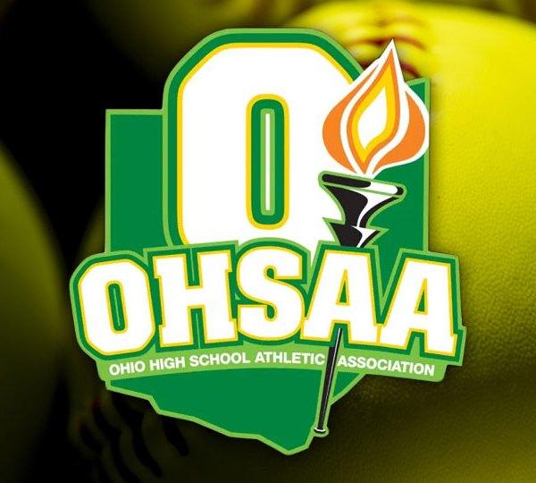 OHSAA logo, softball, generic