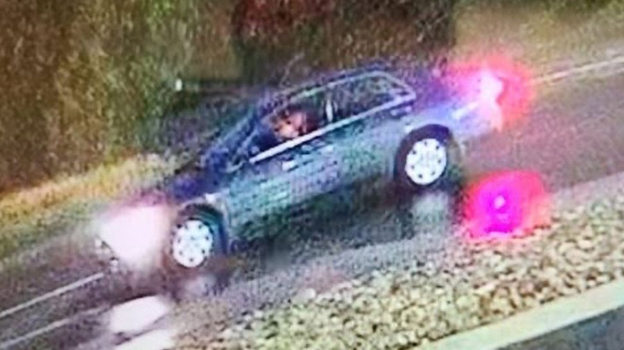 Police believe this vehicle was used in the most recent Rally's shooting in Niles.