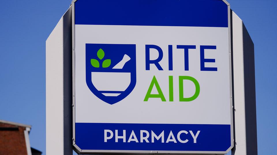 Rite Aid Pharmacy sign, generic