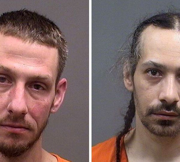 Robert Hanni and Phillip Johnson, arrested in Youngstown drug raid