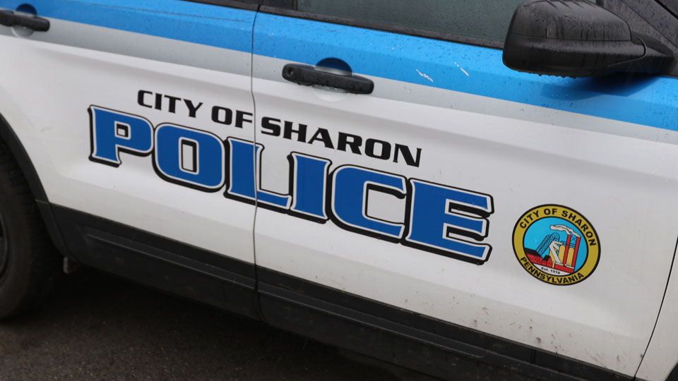 Sharon Police Car in Sharon, Pennsylvania