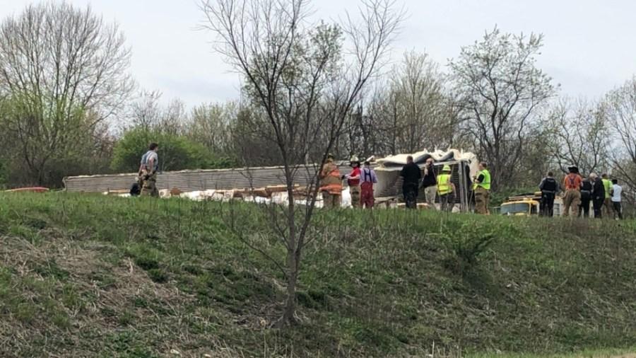 Shenango Township I-80 crash