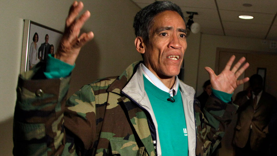Ted Williams, former homeless man in Columbus, Ohio, running for Ohio Governor