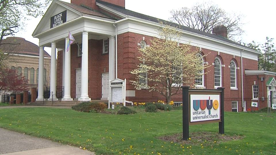Full Spectrum Community Outreach hold fundraiser at Unitarian Universalist Church in Youngstown to help build shelter for LGBT+ community.