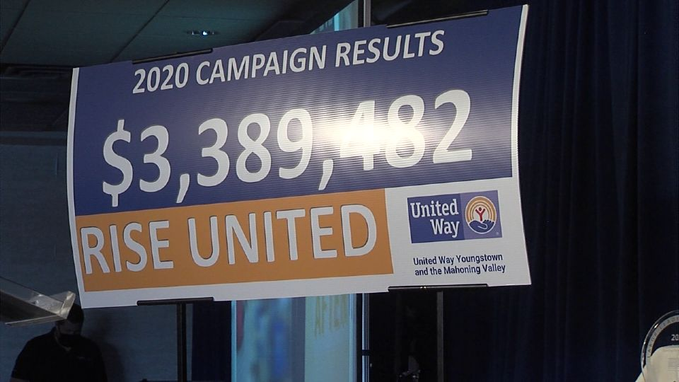 The United Way of the Mahoning Valley shared their gratitude to their donors and volunteers Tuesday.